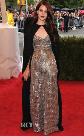 Lana Del Ray in @Joseph Altuzarra at the 2012 Met Gala. Photo Credit: RCFA
