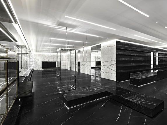 48f63dab3e YSL Shanghai concept store | Narrative Environments | Saint laurent ...