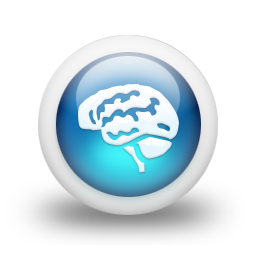 Brain Icon Blue 3d Png Google Sok Brain Icon Icon Png