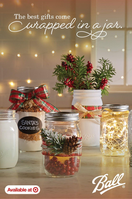 Ball 16oz 12pk Glass Regular Mouth Mason Jar With Lid And Band Mason Jar Christmas Gifts Christmas Projects Diy Christmas Decor Diy