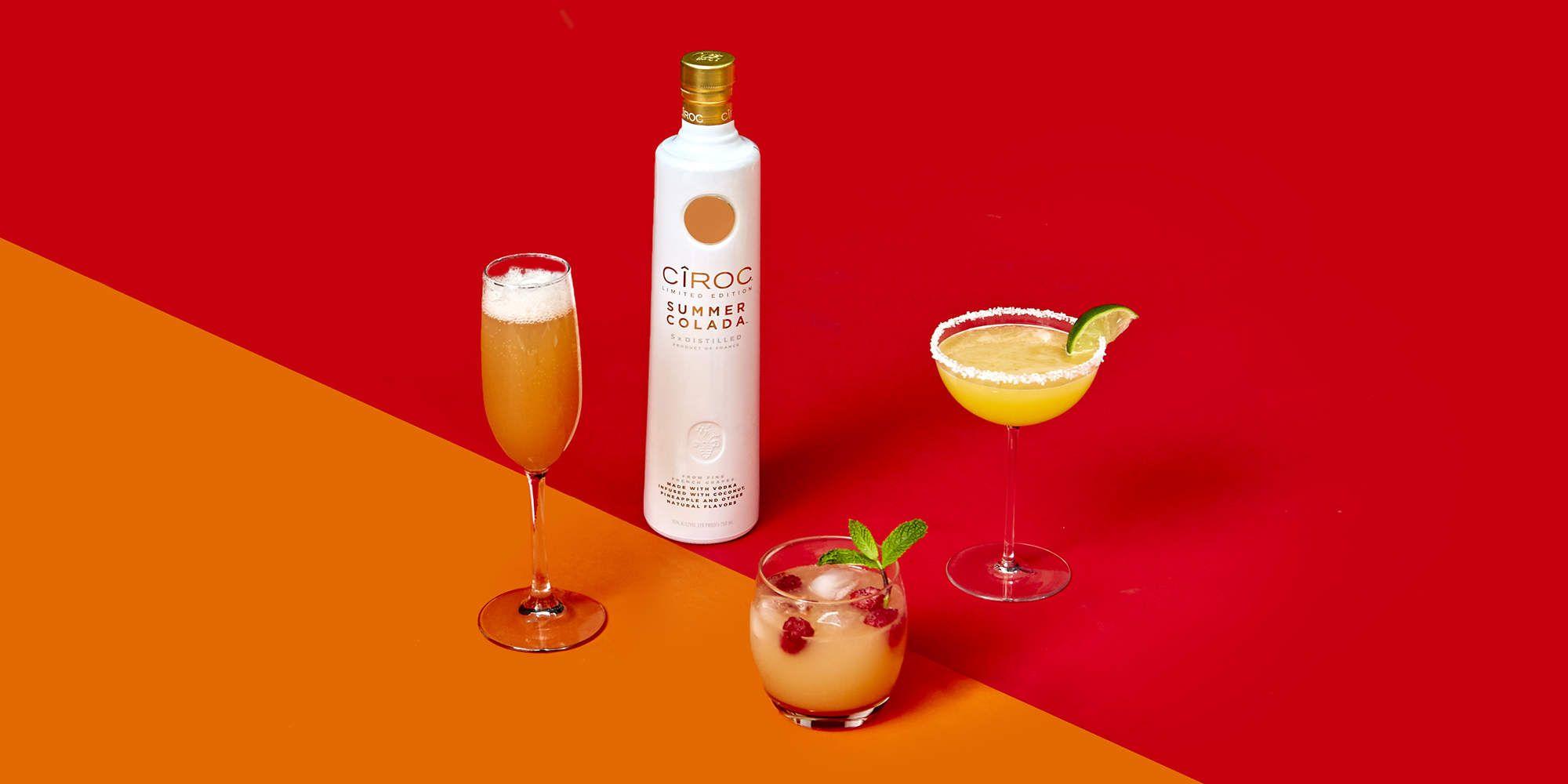 3 Easy Ciroc Summer Colada Recipes Ciroc Summer Colada Ciroc Recipes Colada Drinks