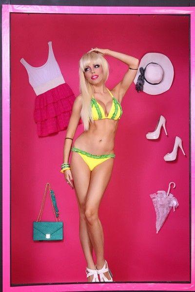Official AMIclubwear designed bikini! Features: stylish ruffly lace ...
