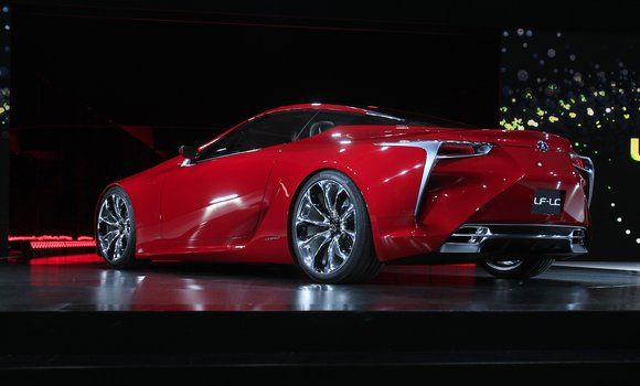 The Lexus LF-LC