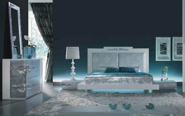 14 Silver Bedroom Designs For Royal Look In The Home Silver