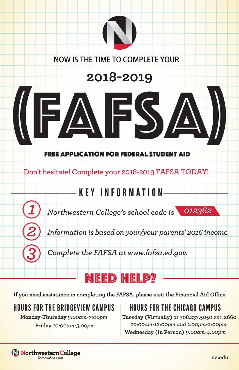 What Are You Waiting For Complete Your 2018 2019 Fafsa Today Fafsa Financialaid Northwesterncollege Fafsa Coding School Northwestern College