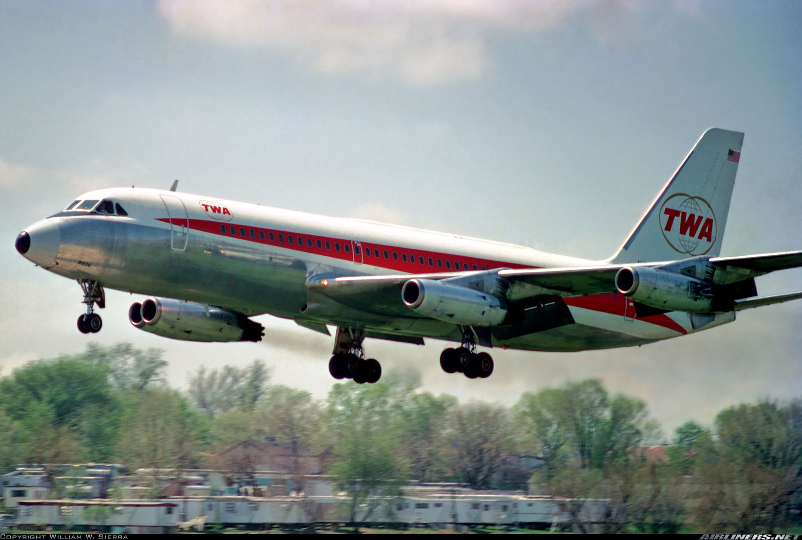 Convair 880 (22-1) - Trans World Airlines - TWA | Aviation Photo #0155330…
