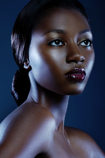 brown skin ebony amateur