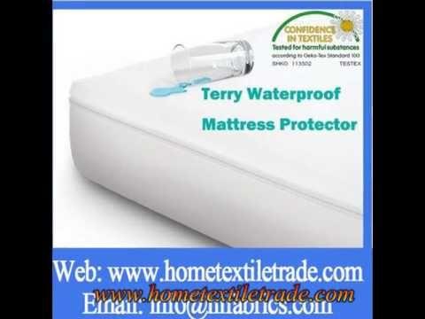 Cheap Single Poly Knit Waterproof Twin Size Matress Cover Waterproof Mattress Pad Waterproof Mattress Mattress Protector