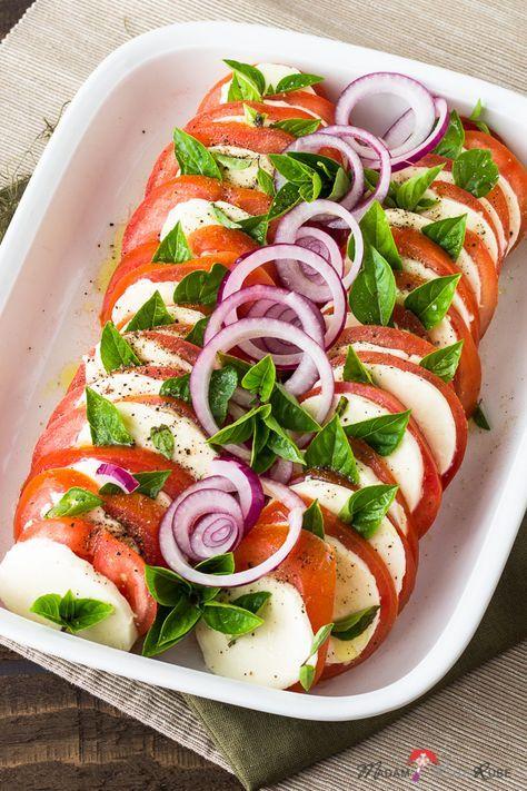 Photo of Insalata Caprese – tomato and mozzarella salad with a lot of basil – madam beet & the country kitchen