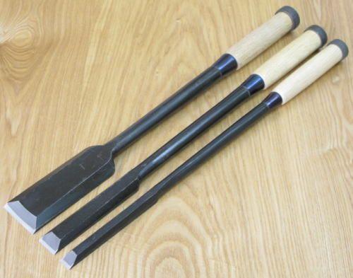 Japanese Kakuri Chisels NOMI Oire Chisel Carpenter/'s Tool Cutter size:24mm