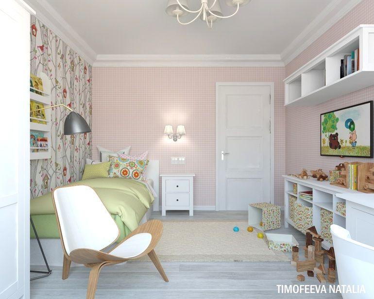 Дизайн детской комнаты икеа для девочки