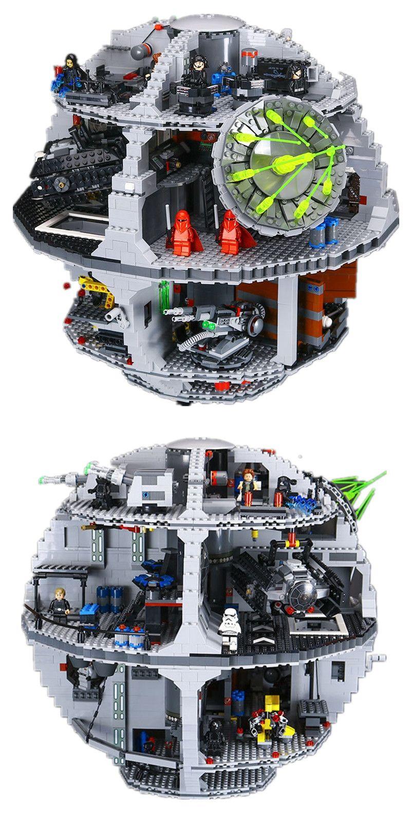 4116pcs 05063 Star Wars Series The New Death Star 3 Assembled