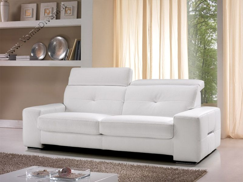Flash Sofa, with reclining headrest Vama Sofas