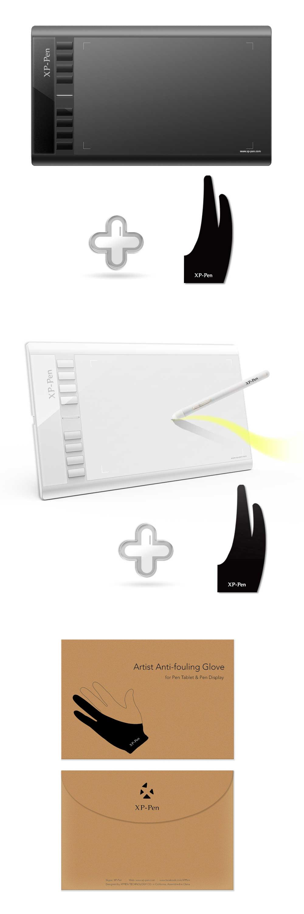 """[Visit to Buy] XPPen Star03 12"""" Graphic Tablet Drawing"""