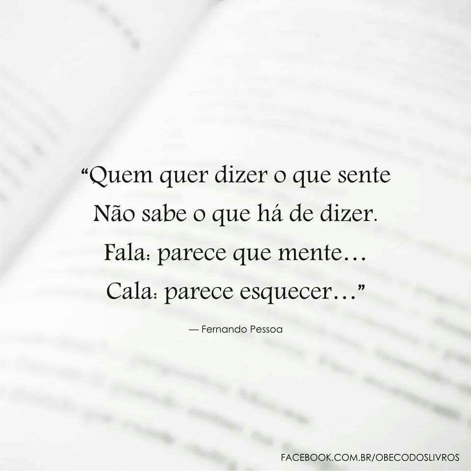 Trecho Do Poema O Amor De Fernando Pessoa Poemas E Frases