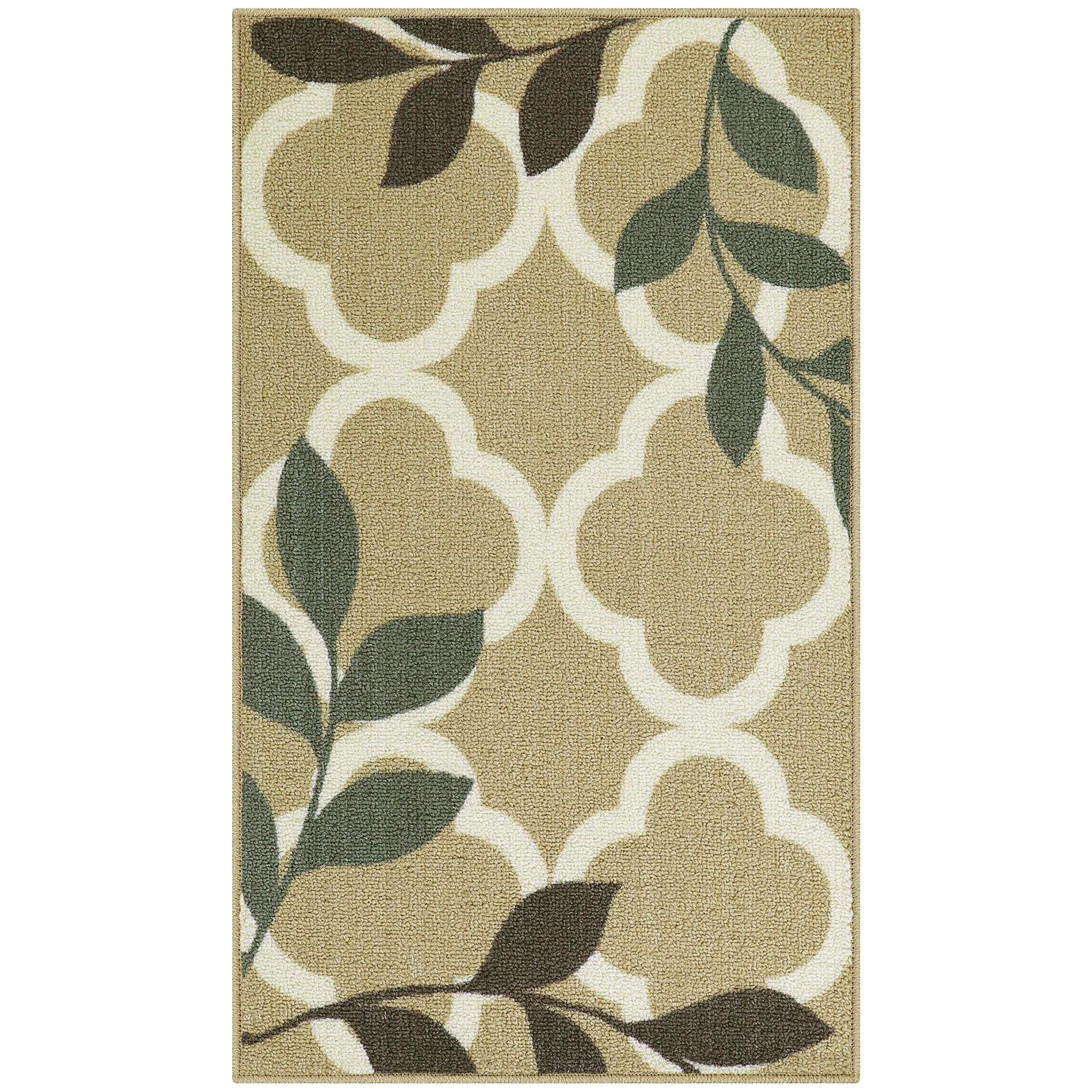 Maples Rugs Kitchen Vera 18 X 210 Non Skid Washable Throw