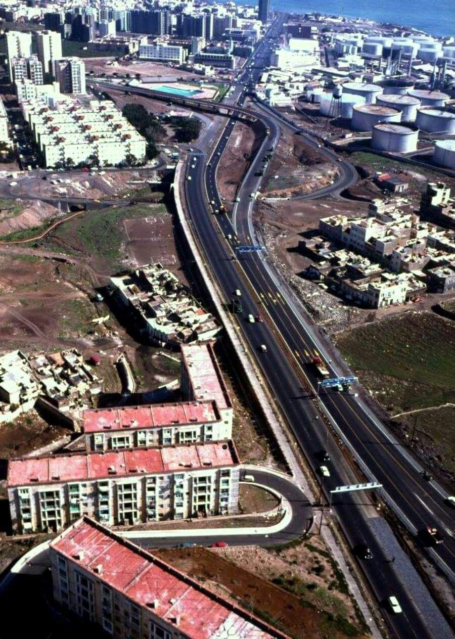 Entrada A Santa Cruz Autopista Del Norte 1974 Tenerife Santa