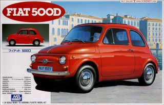 Fiat 500d Model Kit Arte