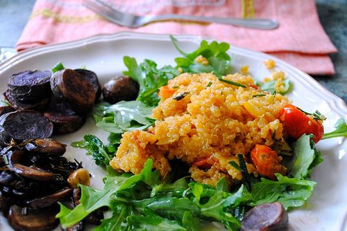 Heirloom Tomato Quinoa Salad