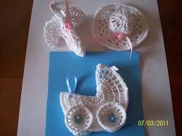 Resultado de imagen para souvenir tejidos a crochet para baby shower