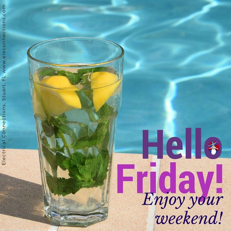 Friday! Weekend!
