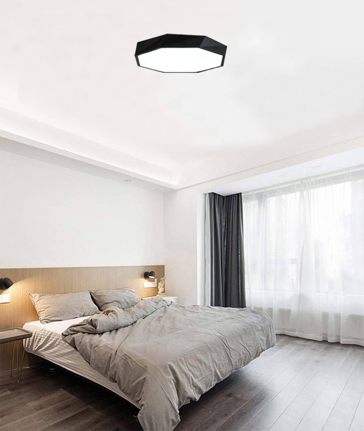 Modern Geometric Shallow Ceiling Light Bedroom ceiling