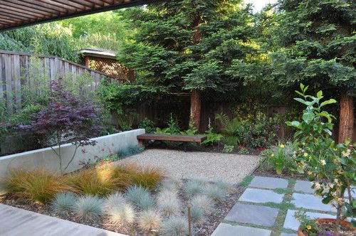 Small Backyard Modern Patio By Huettl Landscape Architecture With Images Modern Landscaping Small Yard Landscaping Modern Garden Design