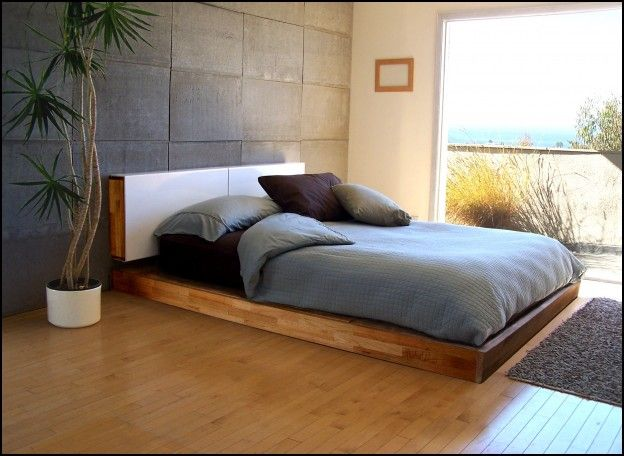 Bed Frames Low To The Ground