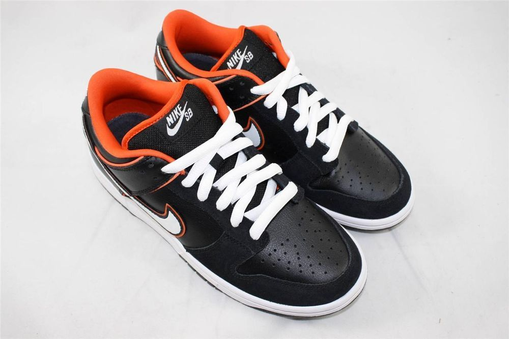 new products aa45d 79d83 New Nike Dunk Low Pro SB size 7.5 Black White Orange Blaze 304292 010  DEADSTOCK  Nike  AthleticSneakers