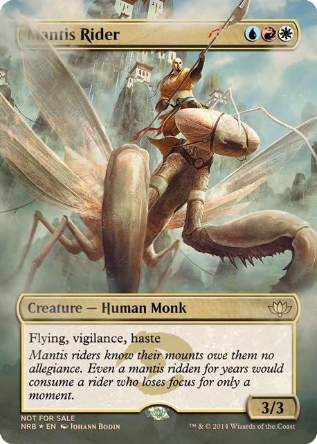 Resultado de imagen de mantis rider
