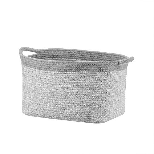 Basketville Coiled Rope Laundry Basket In 2020 Coiled Rope Rope