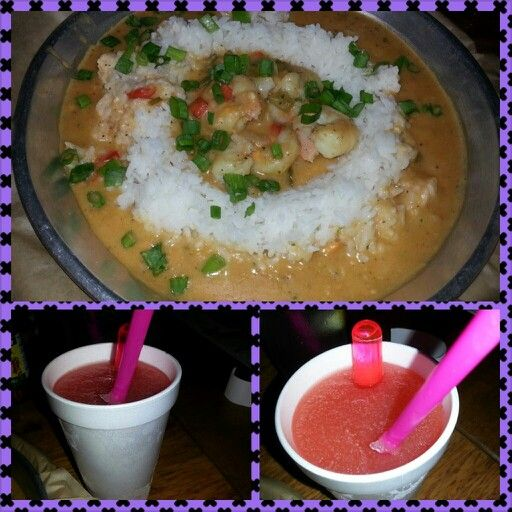 Shrimp etouffee from one of my fave spots in Hollywood Five0Four