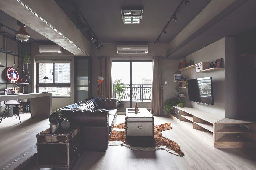Industrial Living Room Design Fascinating Industrial Living Room In Taiwan  Home  Pinterest  Industrial Inspiration