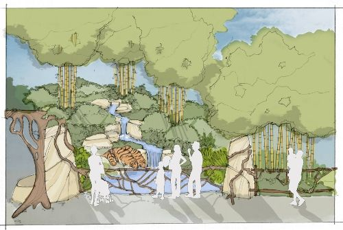Woodland Park Zoo Blog New Tiger And Sloth Bear Exhibit Designs Revealed Woodland Park Zoo Zoo Project Zoo Architecture