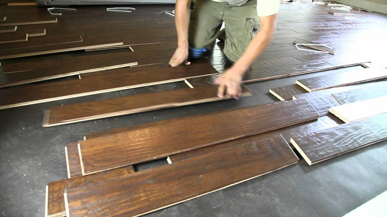 how to lay hardwood on concrete (in basement) The FloorMan
