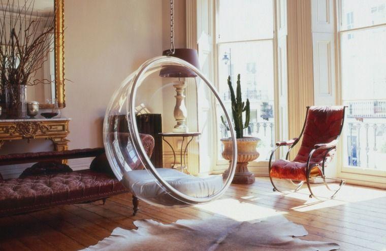 Siège Suspendu Design Pour Un Intérieur Original Et élégant - Fauteuil salon original