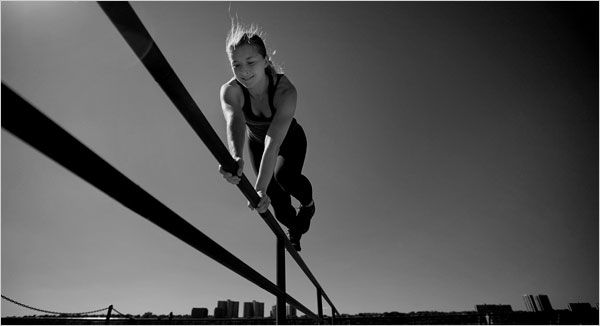 Climbing Walls Because They're There - Nikkie Zanevsky talks about her experience in parkour as a female.