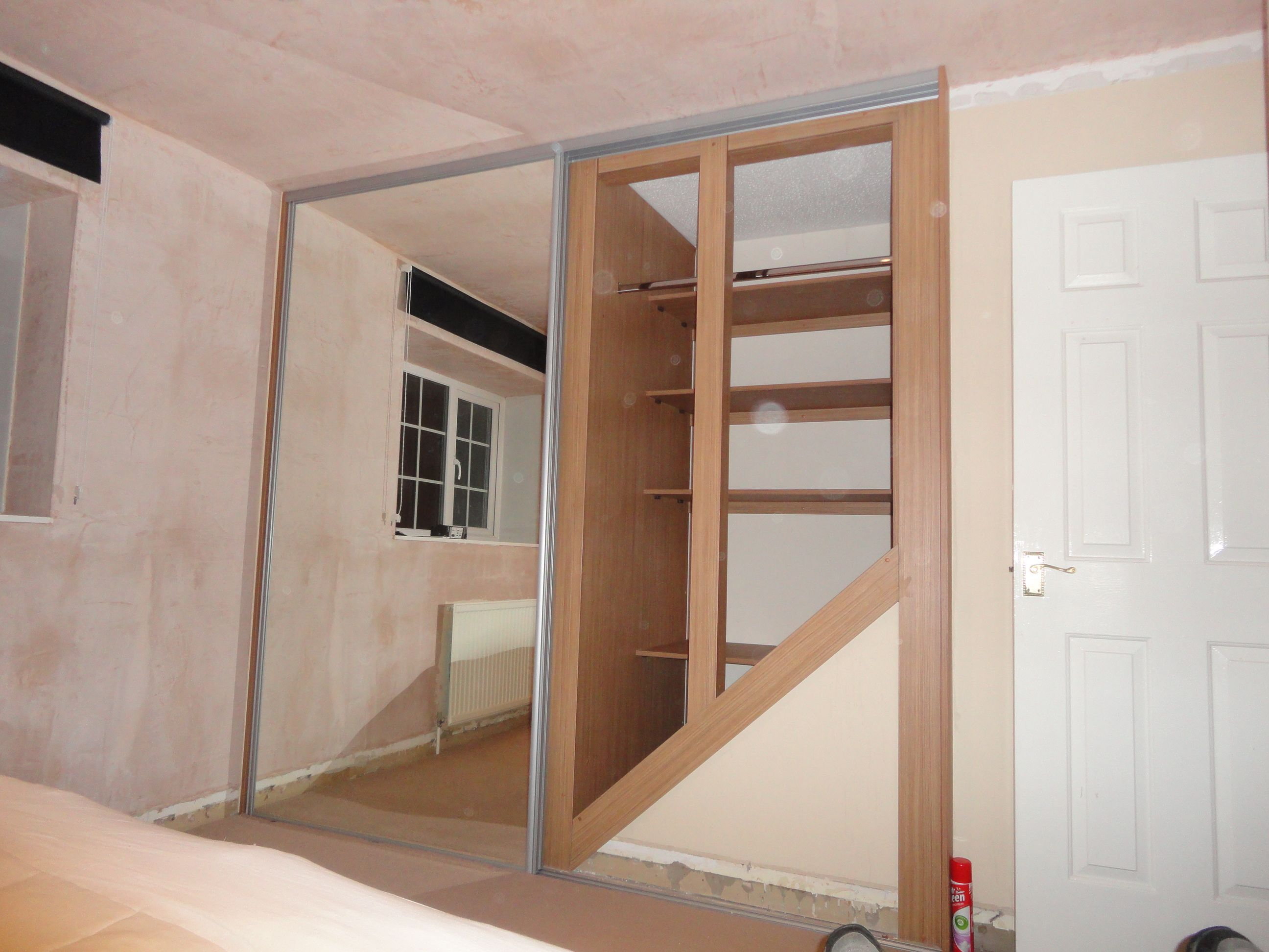Bed Over Stair Box With Storage And Stairs: Image Result For Built In Wardrobes Box Room