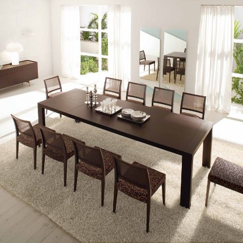 Pleasing Modern Double Extension Table Modern Tables Calligaris Caraccident5 Cool Chair Designs And Ideas Caraccident5Info
