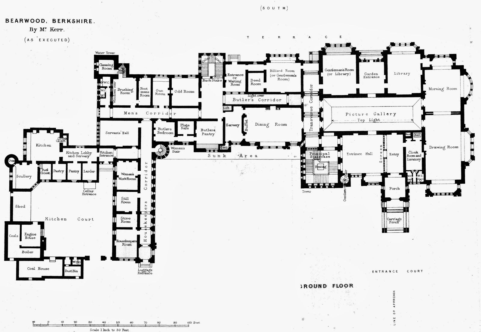 The haunting of hill house floor plan for Large house floor plans