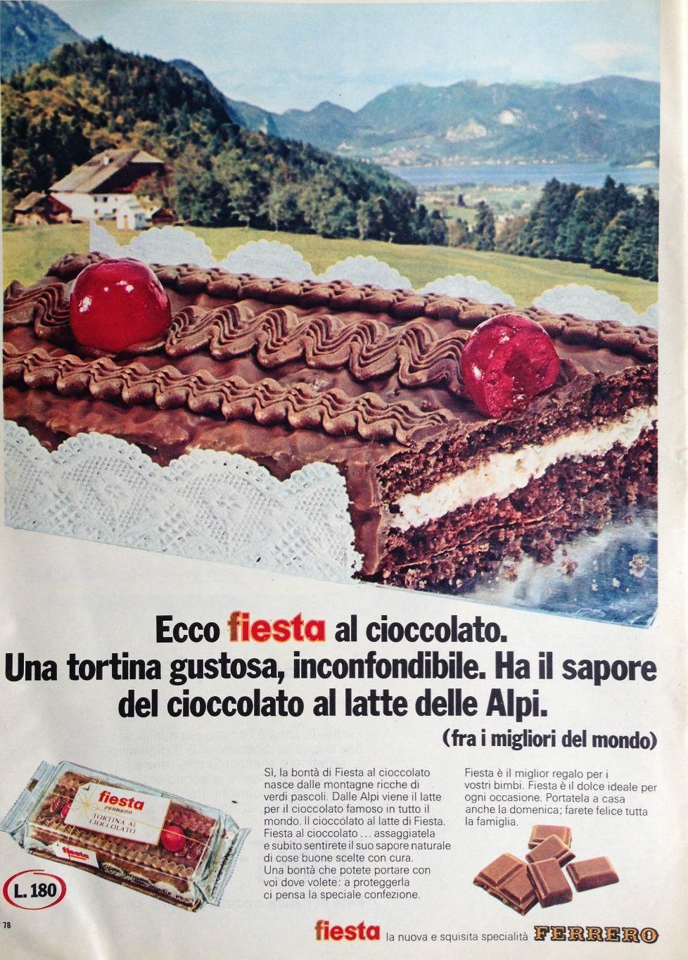 Tortina della Ferrero tipo Fiesta