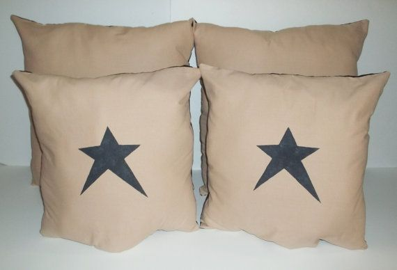 UNSTUFFED Primitive Pillow Cover Lot Of 40 Matching Set Country Couch Delectable Primitive Pillow Covers
