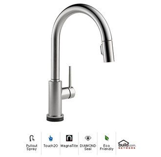 Delta 9159t Dst Best Kitchen Faucets Kitchen Faucets Pull Down