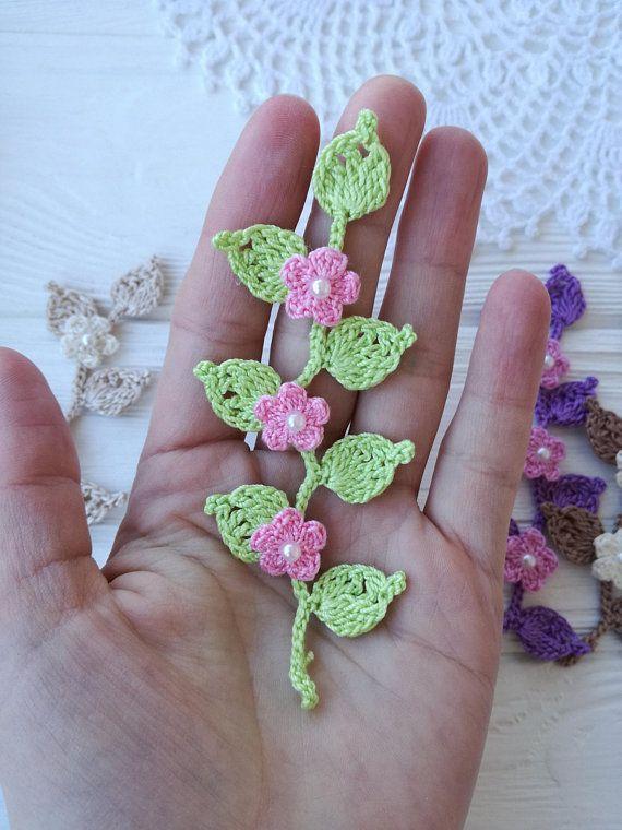 Flowers On The Branch Pattern Crochet Ideas Pinterest Patterns