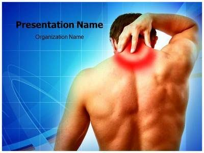 Neck pain powerpoint template is one of the best powerpoint neck pain powerpoint template is one of the best powerpoint templates by sore musclesskin medicalhead toneelgroepblik