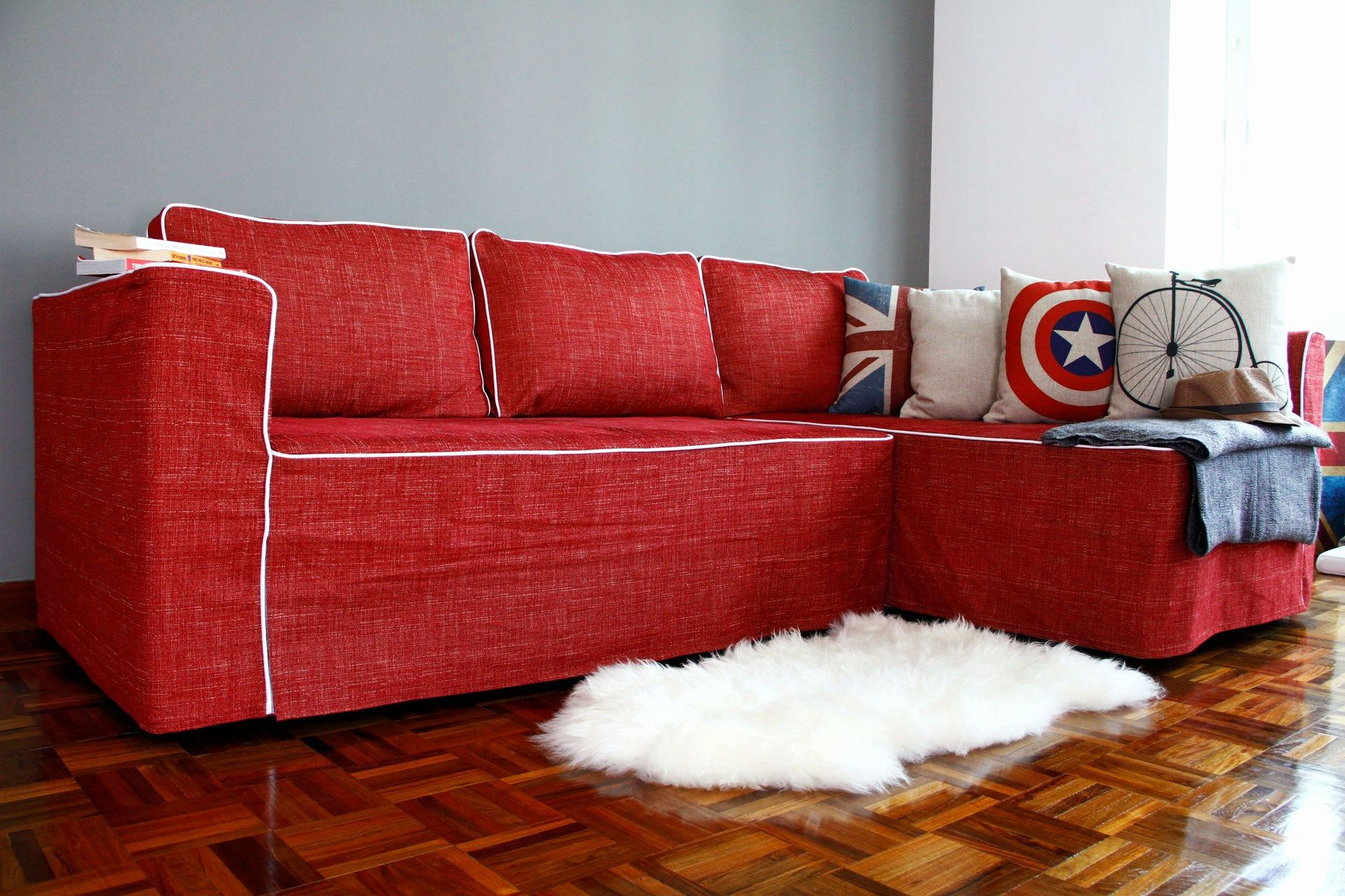 Lovely Sofa Covers For Leather Sofa Graphics L Shaped Sectional Sofa