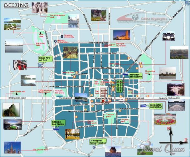 Beijing Map Tourist Attractions   http   travelquaz com beijing map     Beijing Map Tourist Attractions   http   travelquaz com beijing map