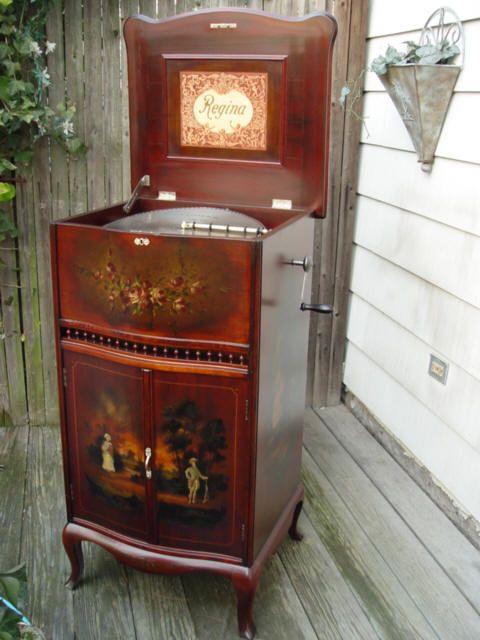 Antique Music Box Repair  Restoration Al Meekins  MUSIC IN A BOX