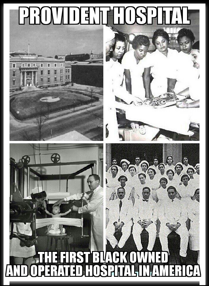 Provident Hospital The First Black Owned And Operated Hospital In