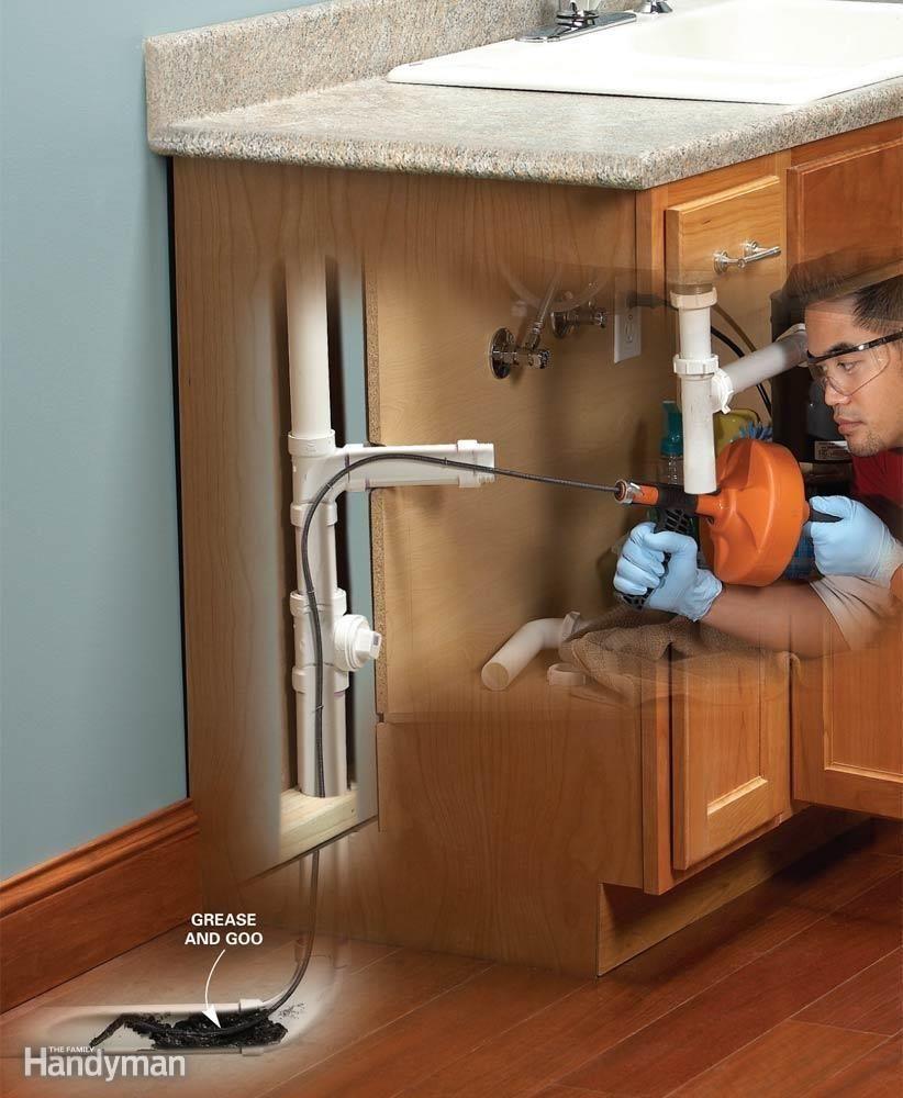 Kitchen Sink Clog Past Trap | http://yonkou-tei.net | Pinterest ...